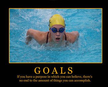 Goals Poster template 2