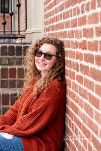 Abbie's Senior Photos at Federal Hill Park Baltimore MD