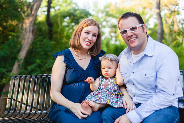 Portraits in honor of Stella's first birthday.