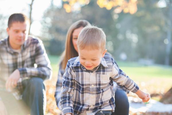 Johnson Family in Fall 2015