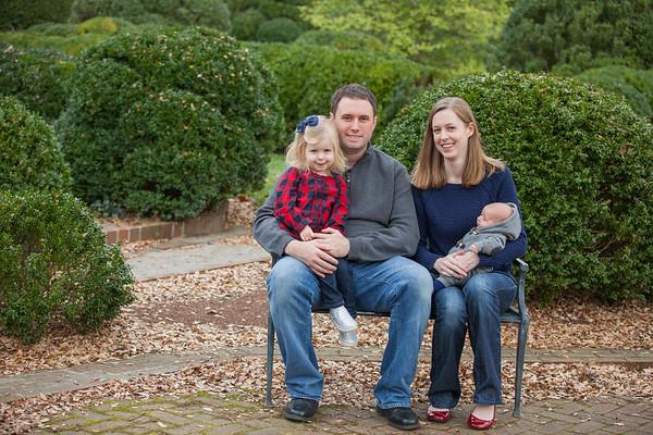 Vanlandingham Family: Fall 2015