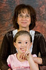 Portrait: Shui-Sien and granddaughter