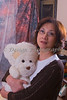 Portrait: Shui-Sien and teddy bear