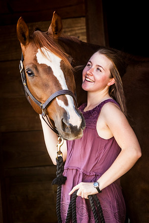 Silent Knight Stables: Maddie & Willow - 10/6/17