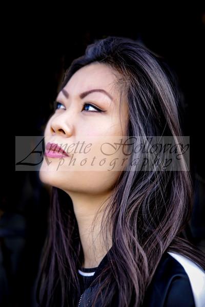 Elizabeth Chan - drummer for Hollyn