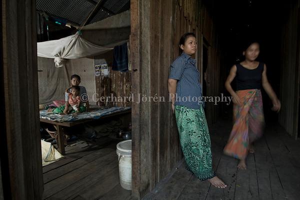 Brothel in Phnom Penh, Cambodia