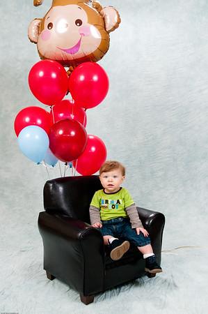 Nolan First Birthday Celebration