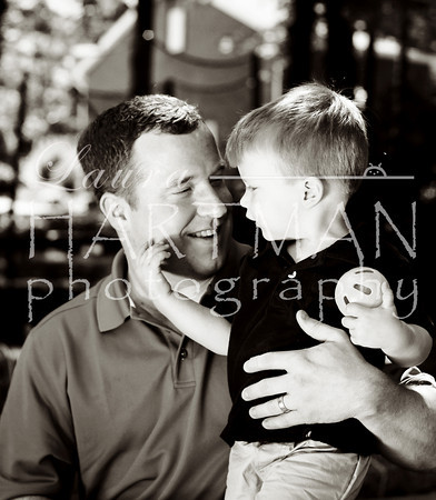 Photographer favorite! This is just precious. I love the way Sam is looking at his daddy. _LH