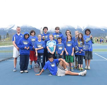 MS Tennis Team Photos | 2017