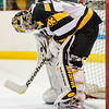 BELLEVILLE, ON (30/01/2013) - Kingston Frontenacs' goalie Mike Morrison (33) takes a rest during his game against the Bellville Bulls Wednesday night. Photo by Alicia Wynter