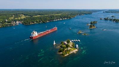Rock Island Lighthouse - Whitefish Bay _0476 LOGO