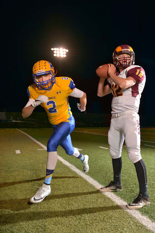 Sheridan's Aaron Sessions and Big Horn's Quinn McCafferty