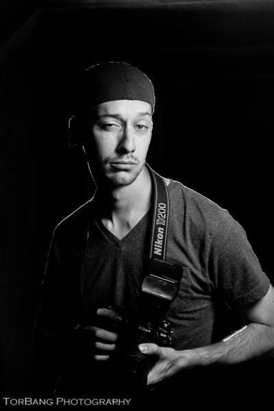 Master Photog Stephen Bain photographed by Master Torsten Bangerter