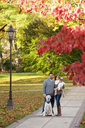 Martin Family at Millersville University
