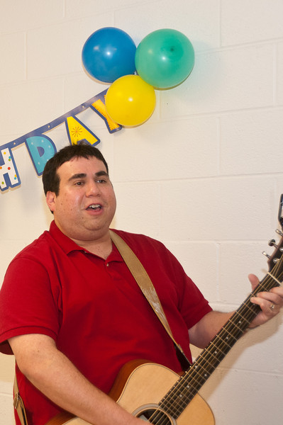 Steve Gellman provides the musical entertainment.