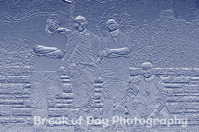 band group fx bas relief2