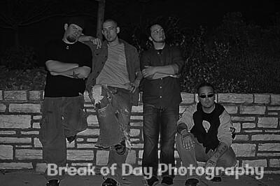 band group fx b&w
