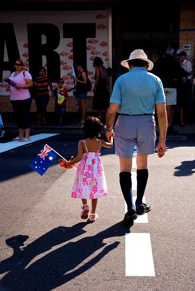 ANZAC Day Parade, Darwin, Australia