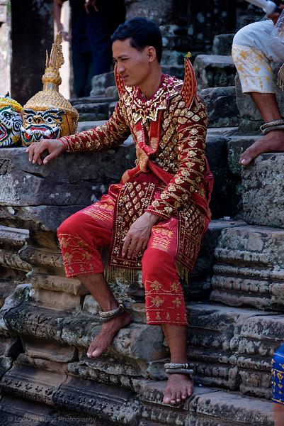 Traditional Cambodian Dancers at Bayon