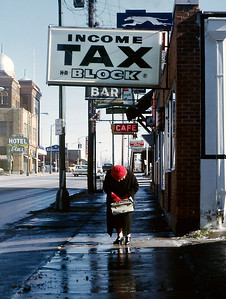 Taxes. Springfield, MO, early 1970s.