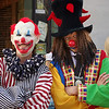Two clowns - Octoberfest, downtown Springfield, MO, 10/1/11.