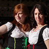 Two ladies - Octoberfest, downtown Springfield, MO, 10/1/11.