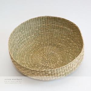 Woven wicker basket for newborn photos