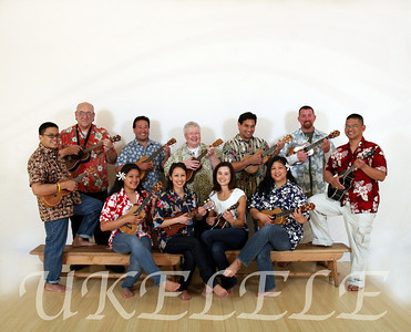 First Ukelele class at Spark of Creation Studio in South San Francisco, 2009.