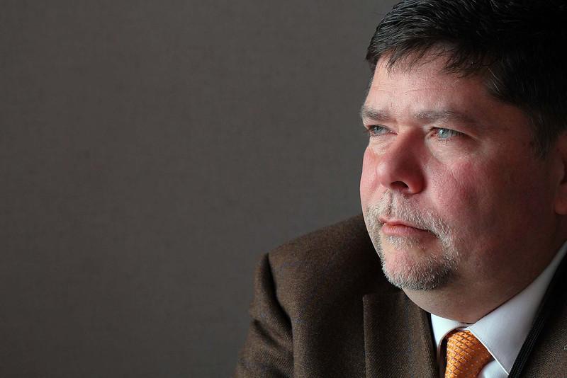 Heywood Hospital's Mens Suicide Prevention Program Coordinator Mike Ellis. SENTINEL & ENTERPRISE/JOHN LOVE