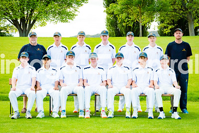 Dunedin Gold U15 Rep Team at the U15 Boys District Tournament, 17 - 19 December 2018 at Molyneux Park in Alexandra, New Zealand.  18 December 2018. Copyright images Clare Toia-Bailey / image-central.co.nz