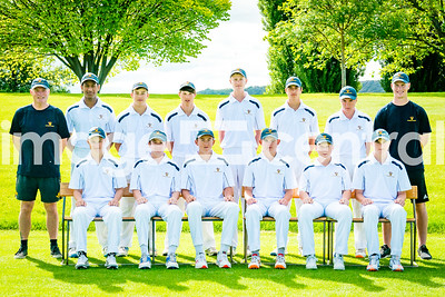 Dunedin Blue U15 Cricket Rep team at the U15 Boys District Tournament, 17 - 19 December 2018 at Molyneux Park in Alexandra, New Zealand.  18 December 2018. Copyright images Clare Toia-Bailey / image-central.co.nz