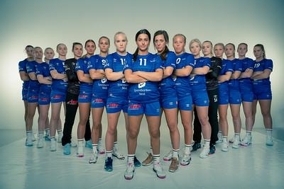 A great evening in the studio with the girls from the  Tertnes Handball Team (@tertneshandballelite) this evening.