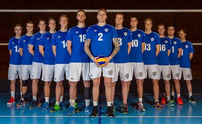 TIF Viking Volleyball Team 2016