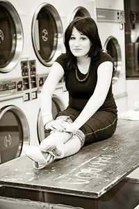 Laundromat Ballerina