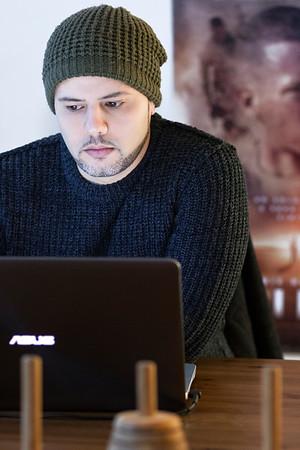 Fabio Resinaro, director, produces, screenwriter