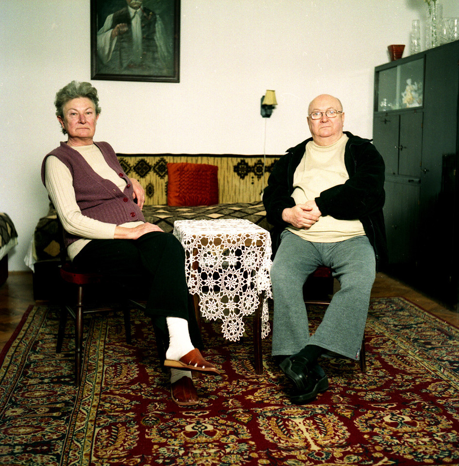 Gyula Jambor the representative of the owners and his wife