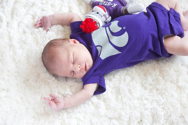 Baby Quinn's First Photo Shoot
