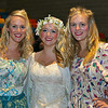 The three blonds in the show