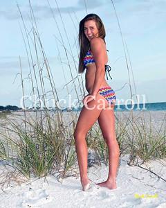 Tori - Victoria Chadsey  --  Bikini  Beach Portraits - Anna Maria Island - April 18, 2009