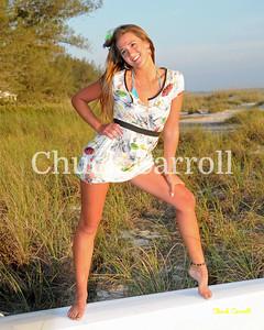 Tori  -- Victoria Chadsey -- Beach Portraits  -- Anna Maria Island