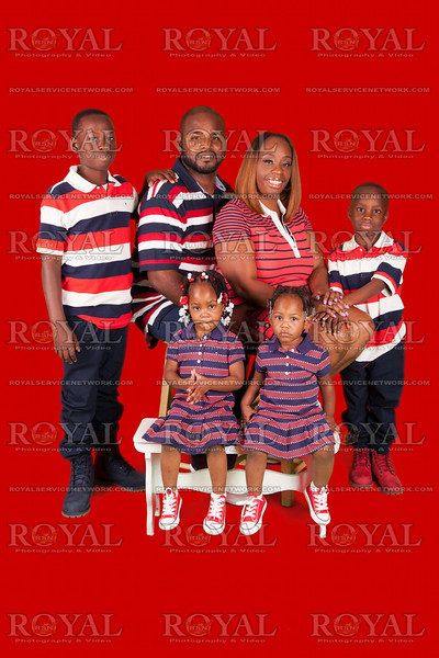 Treniece and Booker family photos 2K15