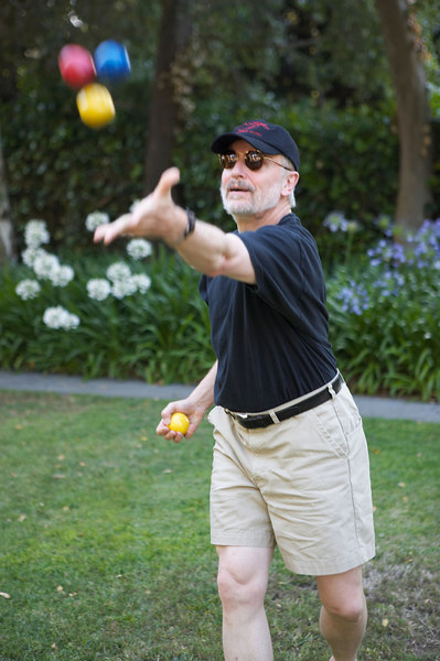 John Lad, Tai Chi Master, violist, and philosopher. July 1, 2005, at the Stanford Chamber Music Workshop.