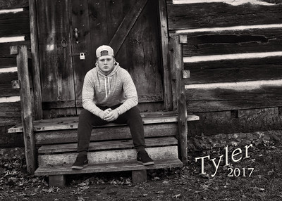Tyler 5x7 BW with Name IMG_2922