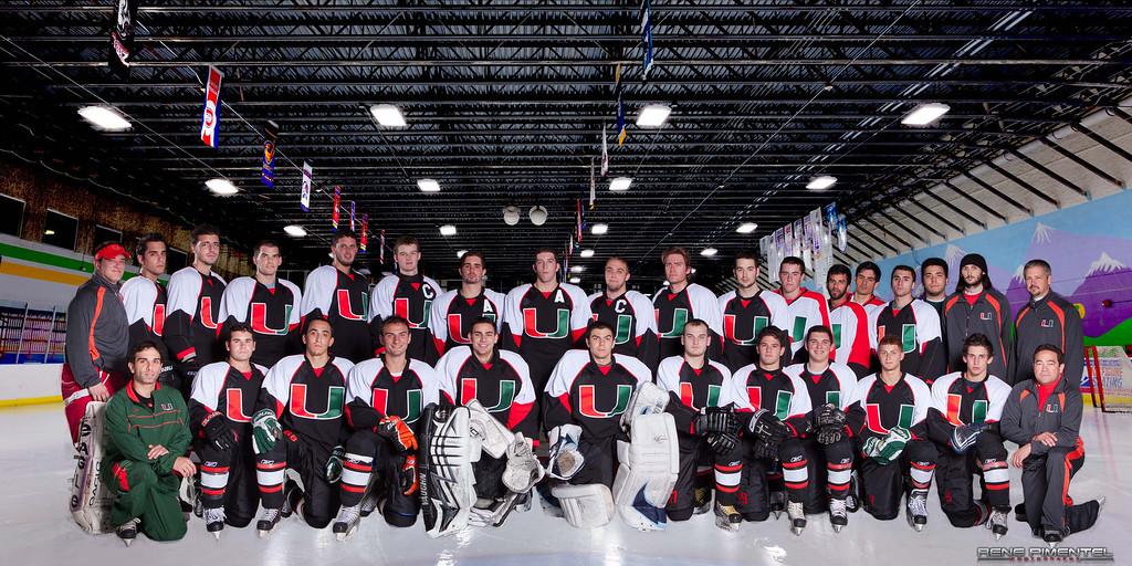 Ice Team University University of Miami Ice Hockey