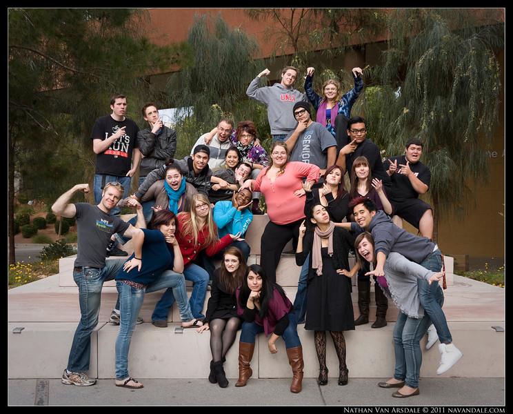 The UNLV Chamber Ensemble Fall Retreat, 2011.
