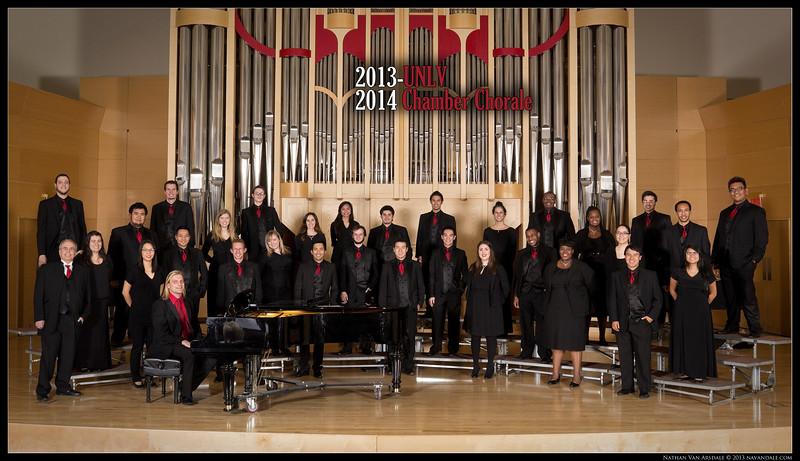 UNLV Choral Ensembles 2013-14