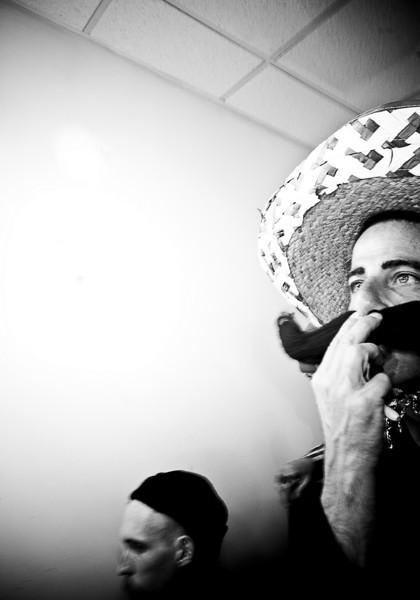 """""""Mexican gringo"""", Vegas, Nevada, 2009."""