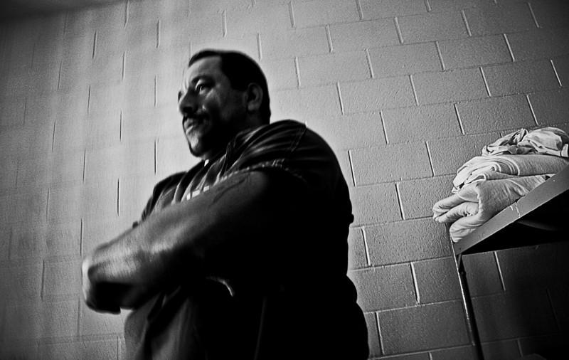 Inmate, Santa Barbara County Jail maximun security, California, 2010.