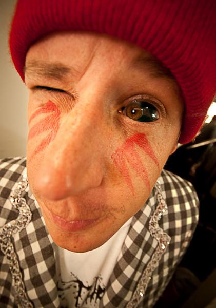 Man with tattooed eye, Vegas, Nevada, 2010.
