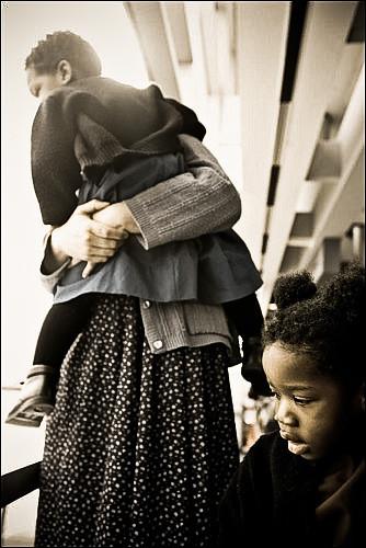 Huracane Katrina survivers, New Orleans, Louisiana, 2006.
